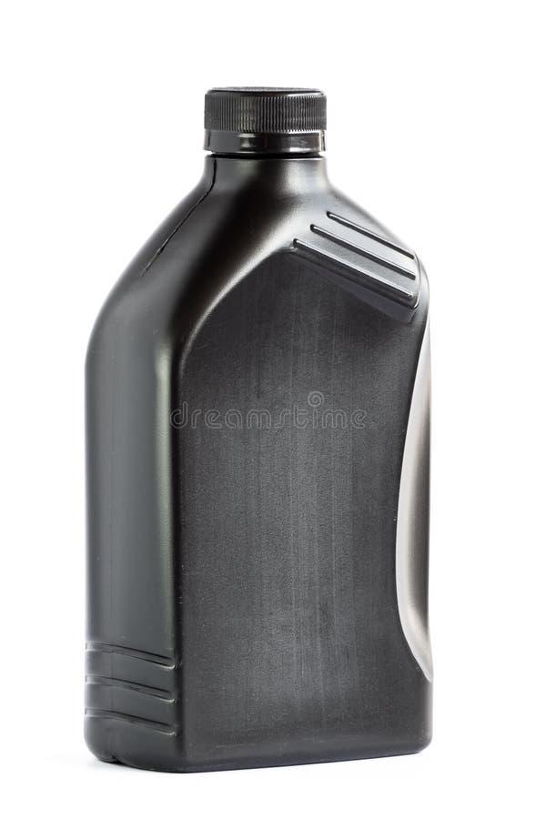 Plastique de bouteille 1 litre pour la réutilisation images stock