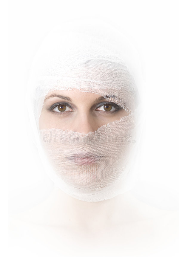 Plastische chirurgie stock foto