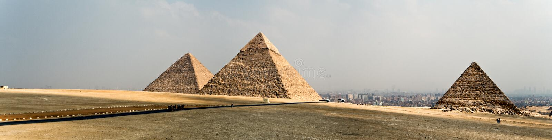 Platô de Giza imagens de stock royalty free