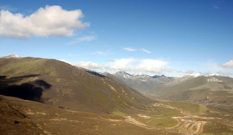 Platô, montanha, céu fotos de stock