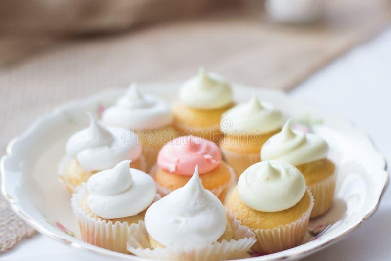 Plat de dessert photo stock