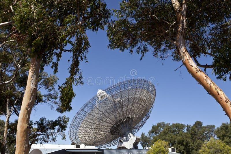 Plat de radiotélescope photographie stock