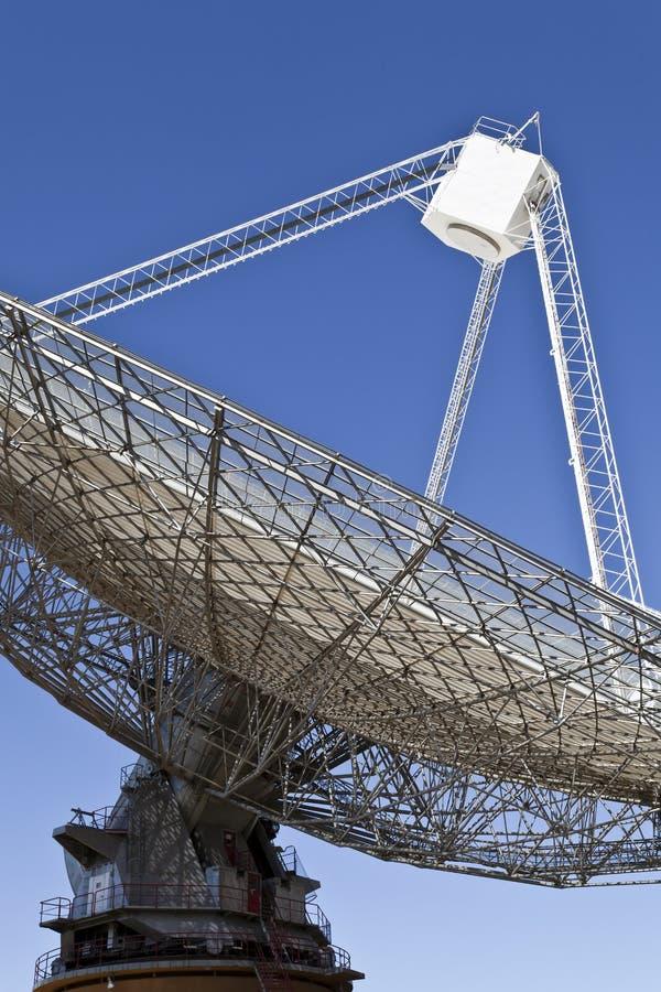 Plat de radiotélescope dans Parkes, Australie photos libres de droits