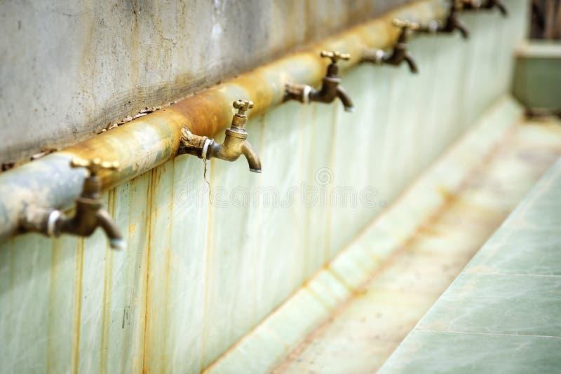 Platô de Saiq do torneira de água foto de stock