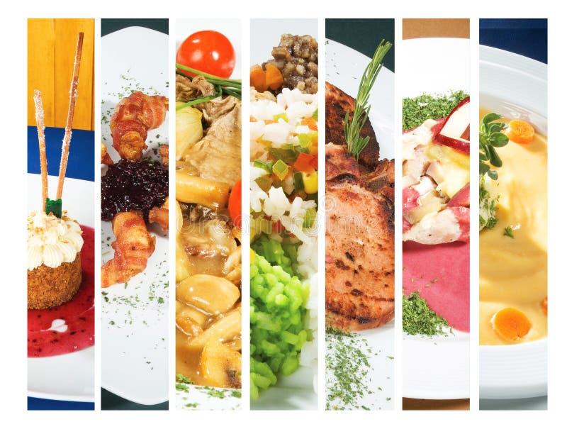 Plat gastronome photographie stock libre de droits