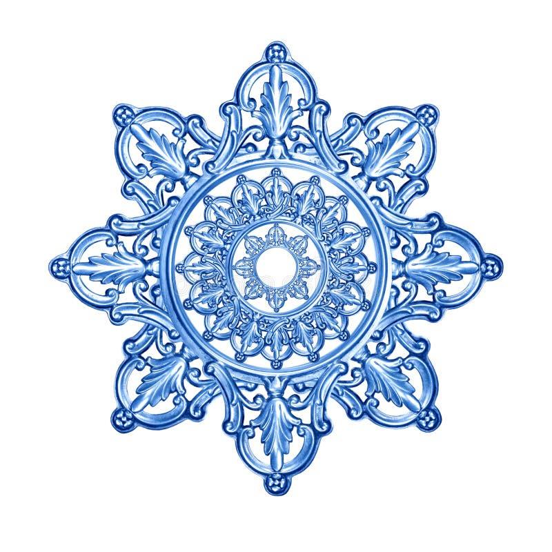 Plata antigua como elemento decorativo ilustración del vector