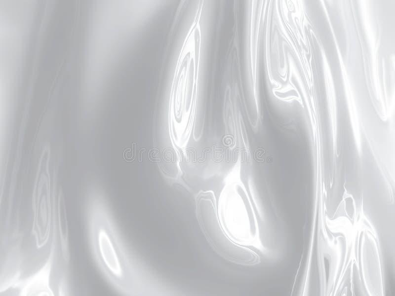 Plata líquida stock de ilustración