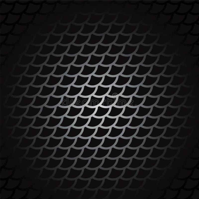 Plata oscura y diseño rojo de las flechas de la tecnología Backg de acero del metal del vector libre illustration