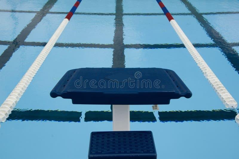 Plataforma da competição de mergulho imagem de stock royalty free