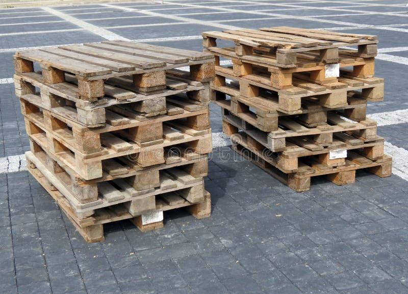 Plataforma de madera fotografía de archivo