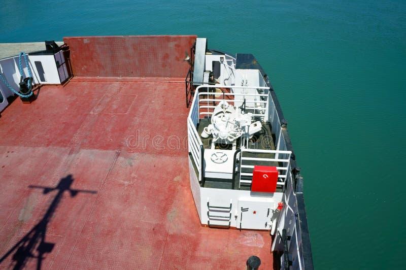 Plataforma do navio imagens de stock
