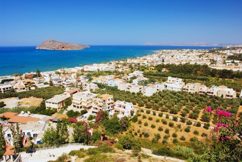 Platanias, Крит стоковые изображения rf