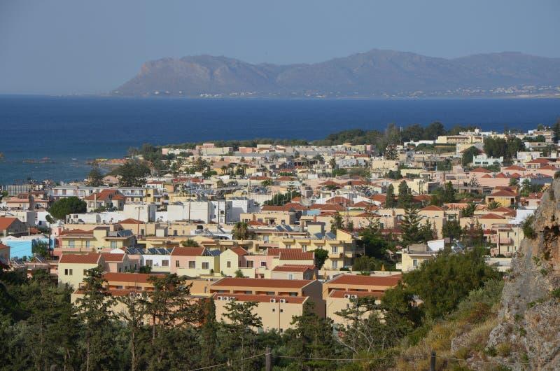 Platanias, Creta fotografía de archivo