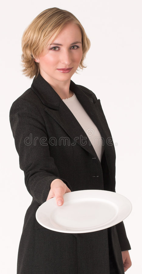 Plate royalty free stock image