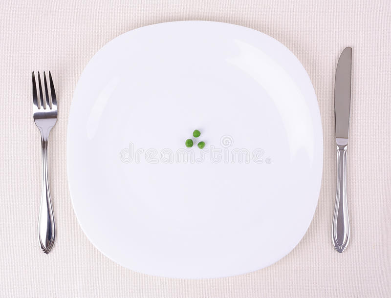 Plate stock image