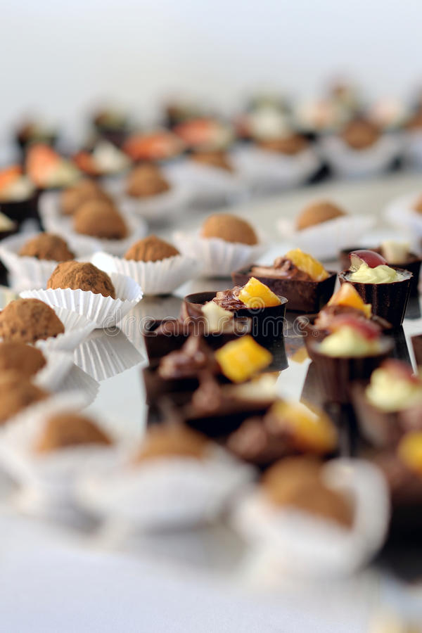 Download A Plate With Assorted Delicious Sweets Stock Image - Image: 13382241