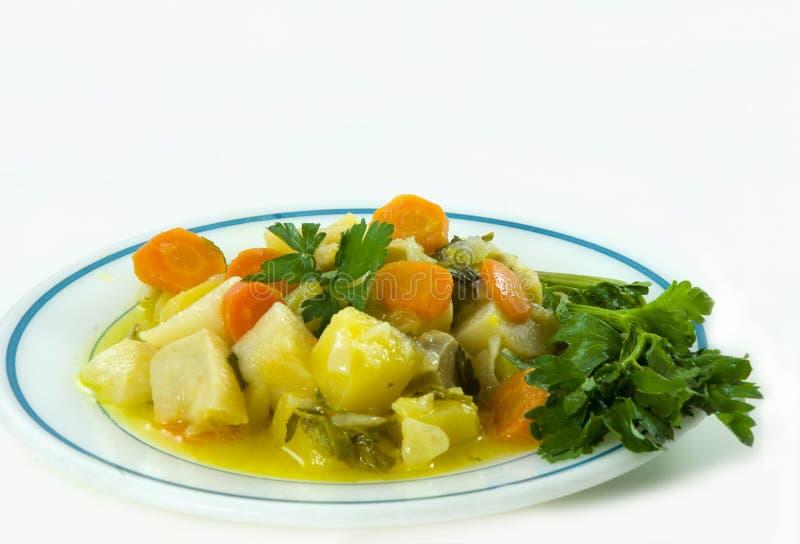 A plate of celeriac