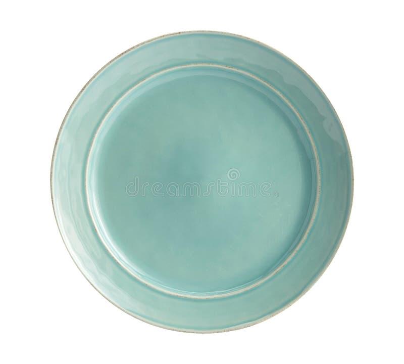 Plate a colori moderne - Semplice raccolta di sketch Dinnerware immagini stock