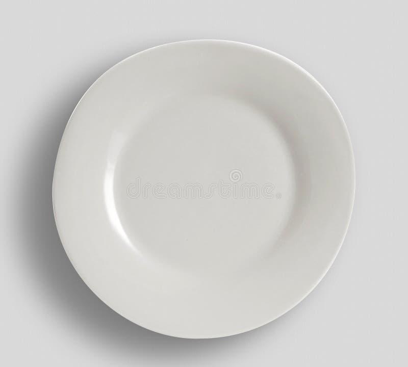 Plate a colori moderne - Semplice raccolta di sketch Dinnerware fotografia stock libera da diritti