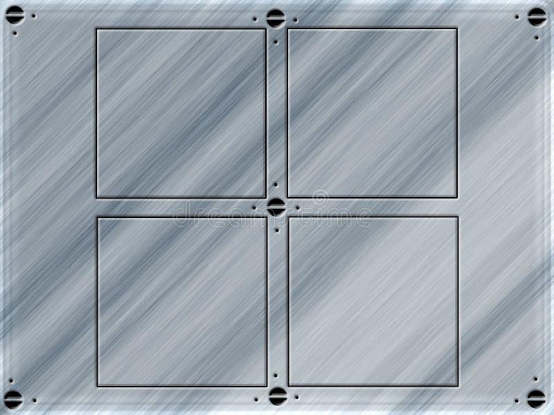 Download Plate design stock illustration. Illustration of metallic - 5709