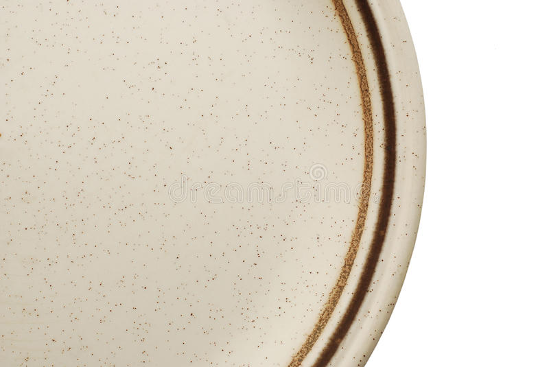 Plate detail stock photo