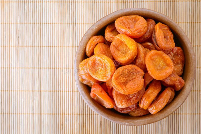 Download Plate With Dried Apricots Royalty Free Stock Photo - Image: 28038725