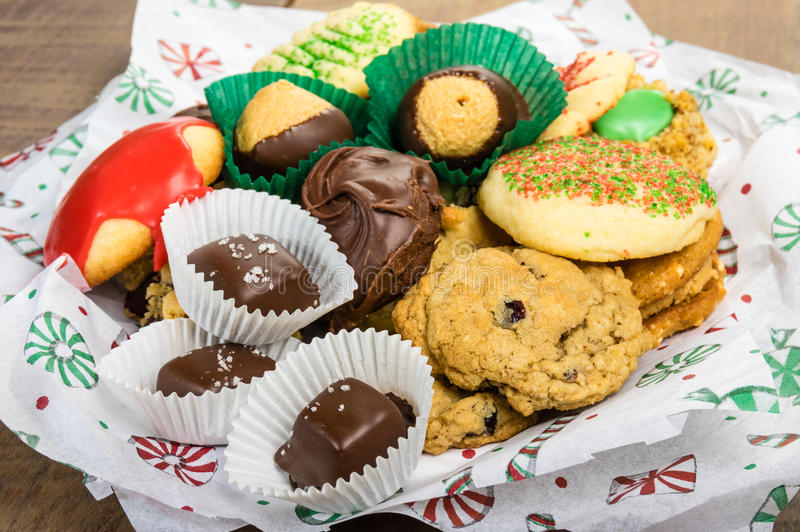 Download Plate Of Fancy Cookies For Holiday Stock Photo - Image: 36210198