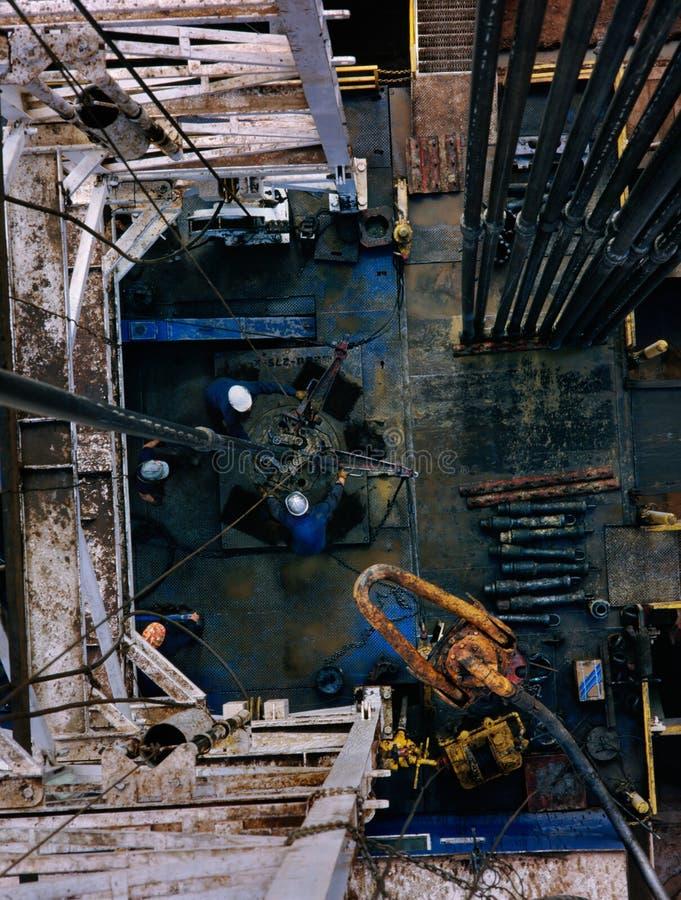 Plate-forme pétrolière photos libres de droits