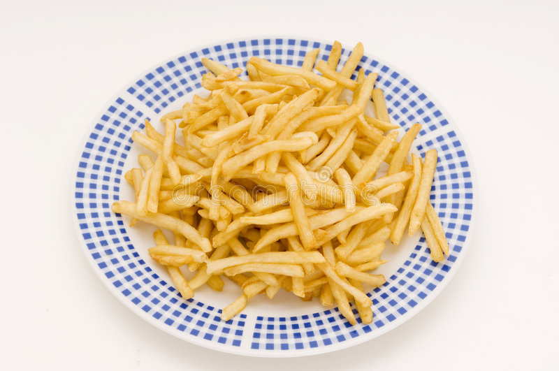 Download Plate Of Fries stock photo. Image of cholesterol, isolated - 170228