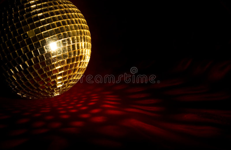 Plate glass ball royalty free stock photo