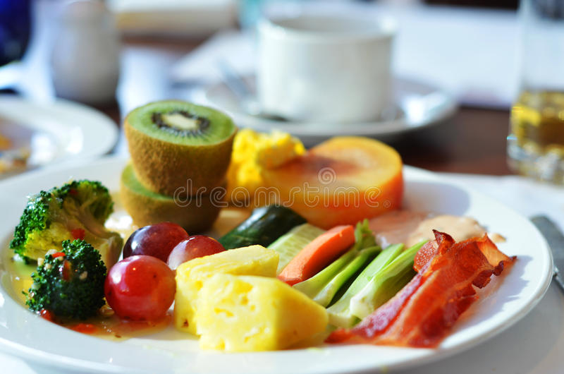 Plate of Health royalty free stock images