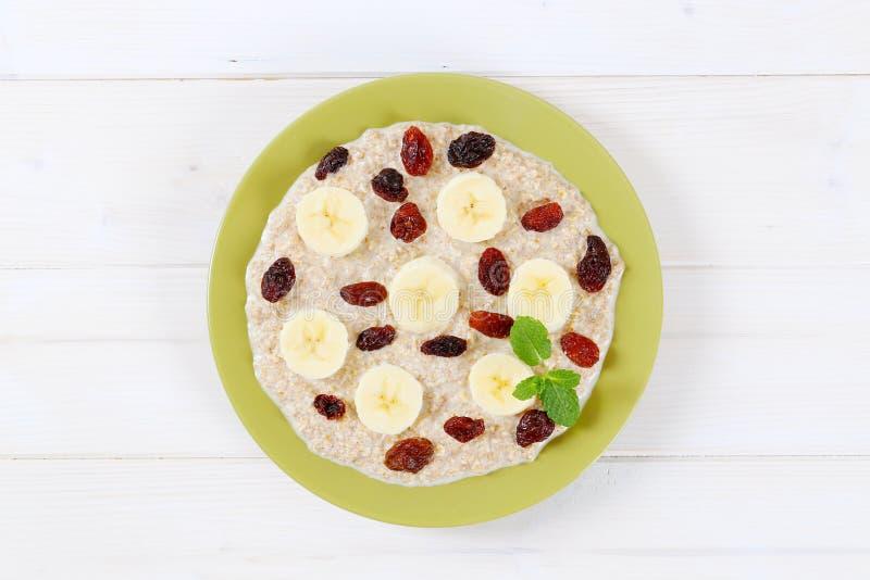 Download Plate Of Oatmeal Porridge Stock Photo - Image: 83705293