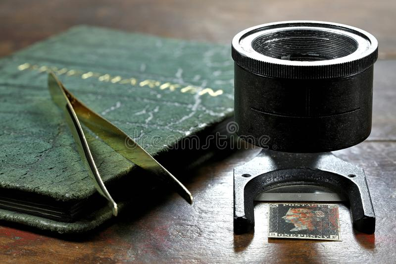 Penny Black stock image