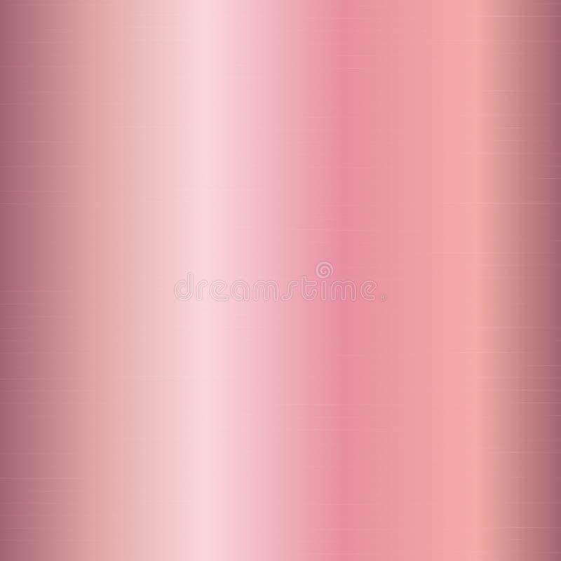Gradient metal pink gold stock vector. Illustration of ...