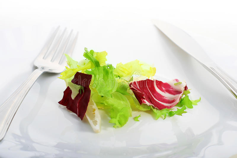 Download Plate With Salad. Stock Image - Image: 30302301