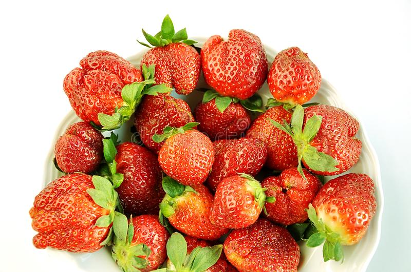 Download Plate of  strawberry. stock image. Image of food, group - 8654425