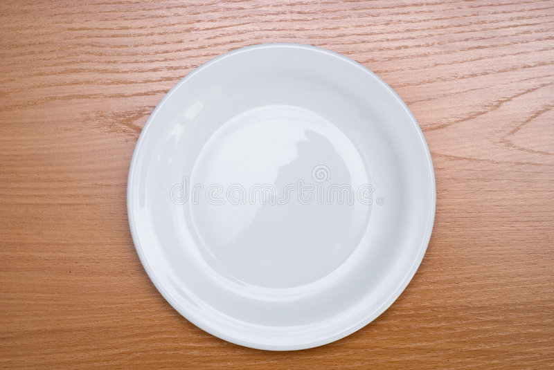 Download Plate on table stock image. Image of plastic, circle, glass - 4530167