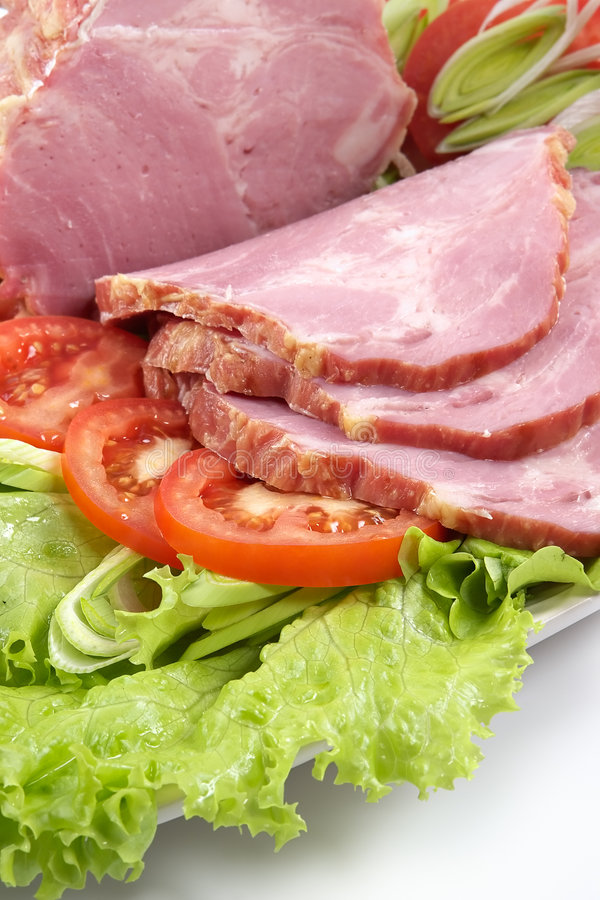 Free Plate With Snack From Bacon Royalty Free Stock Photos - 1985298