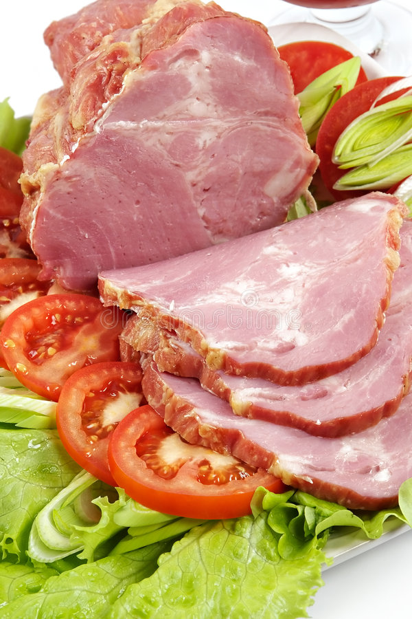 Free Plate With Snack From Bacon Stock Images - 1985324