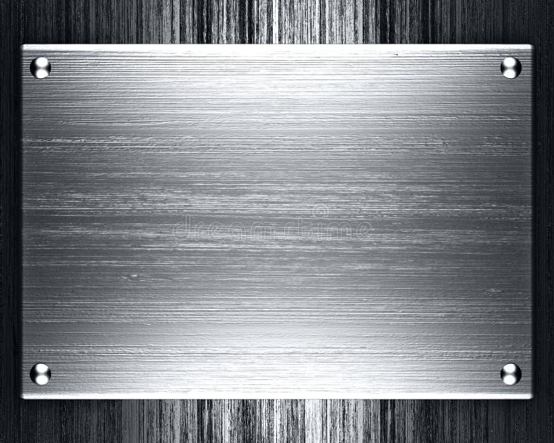 Plateado de metal imagen de archivo libre de regalías