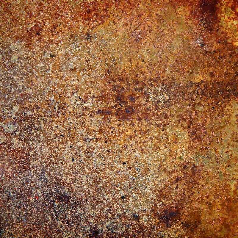 Plateado de metal fuertemente oxidado fotos de archivo libres de regalías