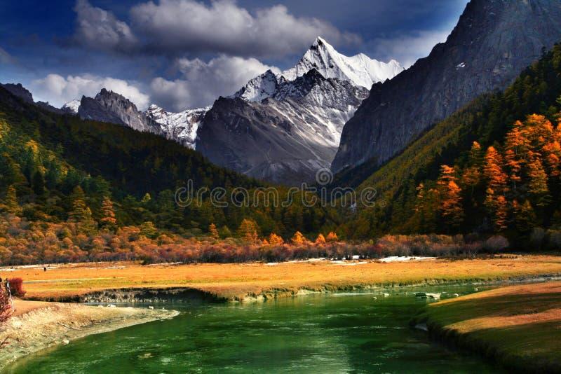 plateau chanxi royalty-vrije stock foto's