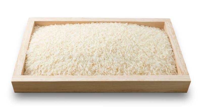 Download Plateau De Jasmine Rice Thaïlandais Sur Le Fond Blanc Photo stock - Image du ground, céréale: 56489926