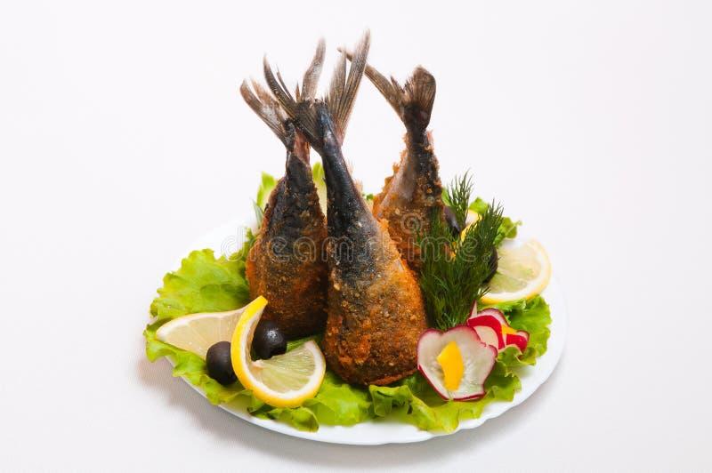 Plateau de viande servi en restaurants et cafés photographie stock libre de droits