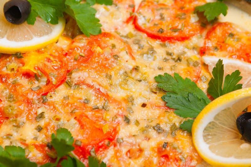 Plateau de viande servi en restaurants et cafés photo stock