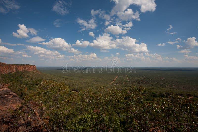 Plateau de Waterberg photo libre de droits