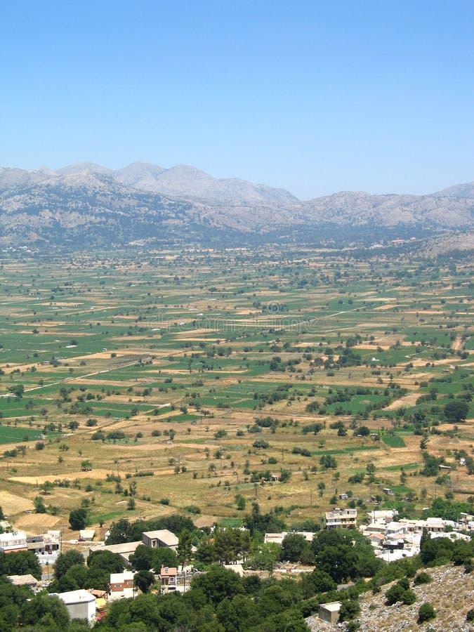 Plateau della Lasithi immagini stock