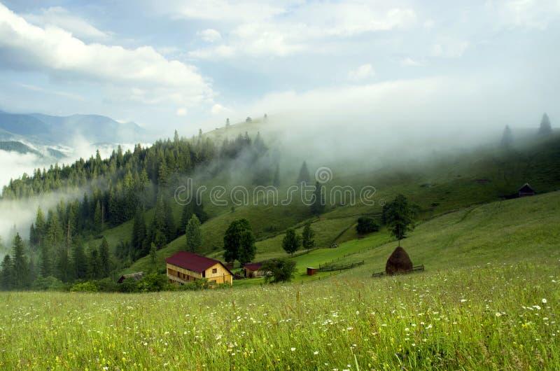 Plateau della montagna fotografia stock libera da diritti