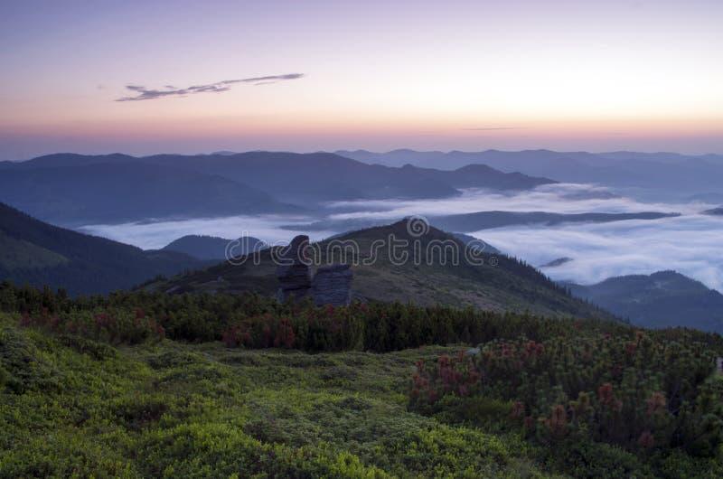 Plateau della montagna immagine stock libera da diritti