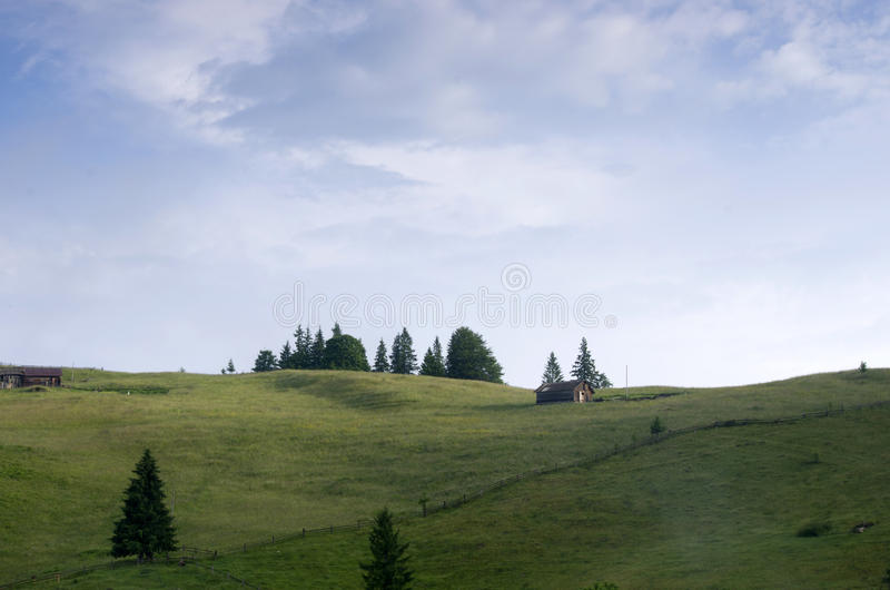 Plateau della montagna fotografia stock